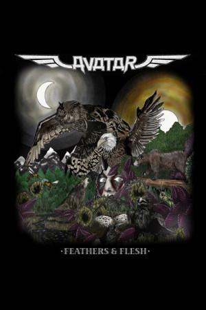 Camiseta Avatar Feathers & Flesh