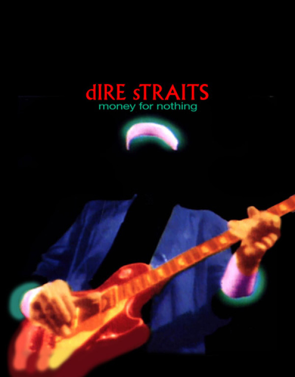 Camiseta Dire Straits Money For Nothing