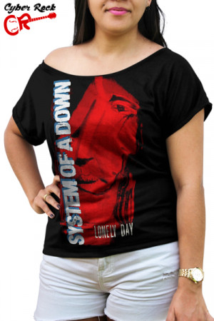 Blusinha System of a Down Lonely day