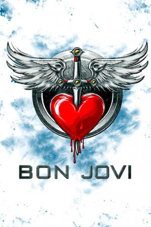 Camiseta Branca Bon Jovi