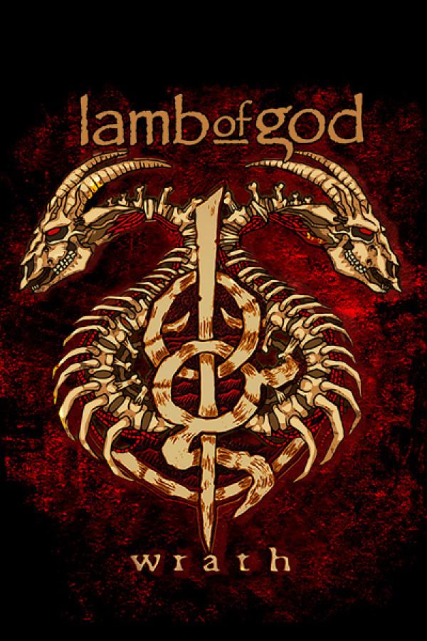 Camiseta Lamb of God Wrath