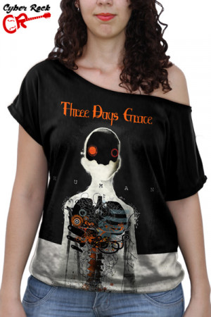 Blusinha Three Days Grace Human