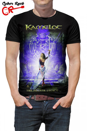 Camiseta Kamelot the Fourth Legacy