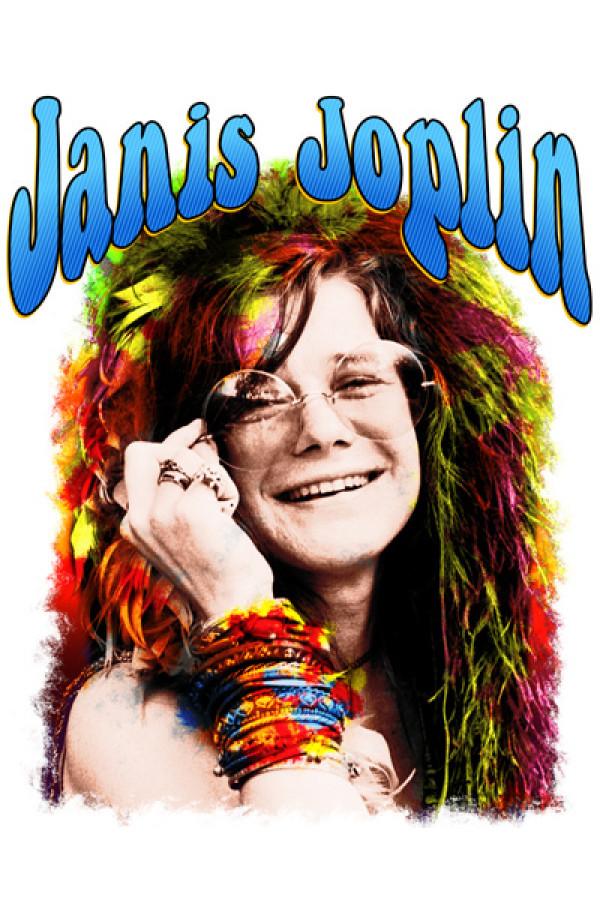 Blusinha Janis Joplin Branca