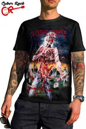 Camiseta Cannibal Corpse - Eaten Back to Life