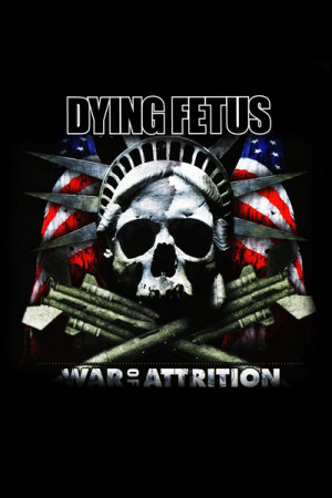 Camiseta Dying Fetus War of Attrition