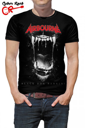 Camiseta Airbourne Black Dog Barking
