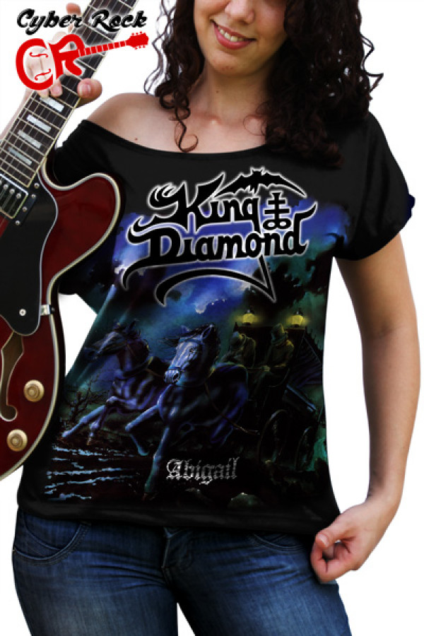 Blusinha King Diamond Abigail