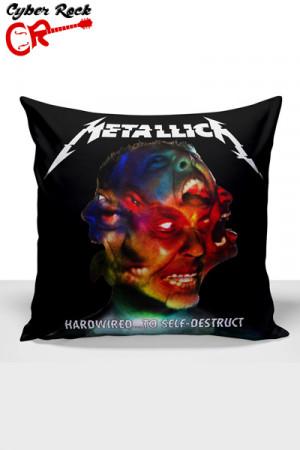 Almofada Banda Metallica Hardwired