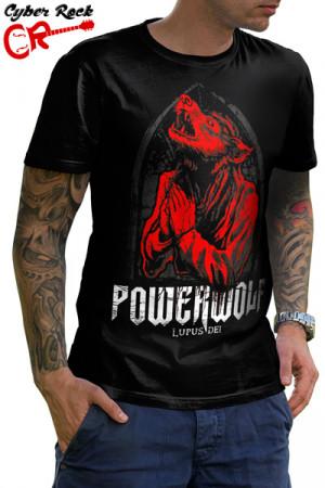 Camiseta Powerwolf Lupus Dei