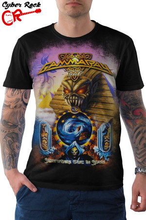 Camiseta Gamma Ray Somewhere Out in Space