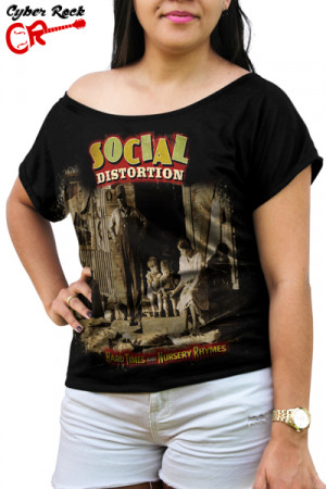 Blusinha Social Distortion Hard Times And Nursery Rhymes