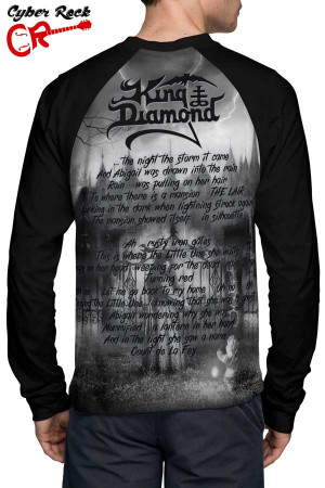 Raglan Manga Longa King Diamond Abigail part II