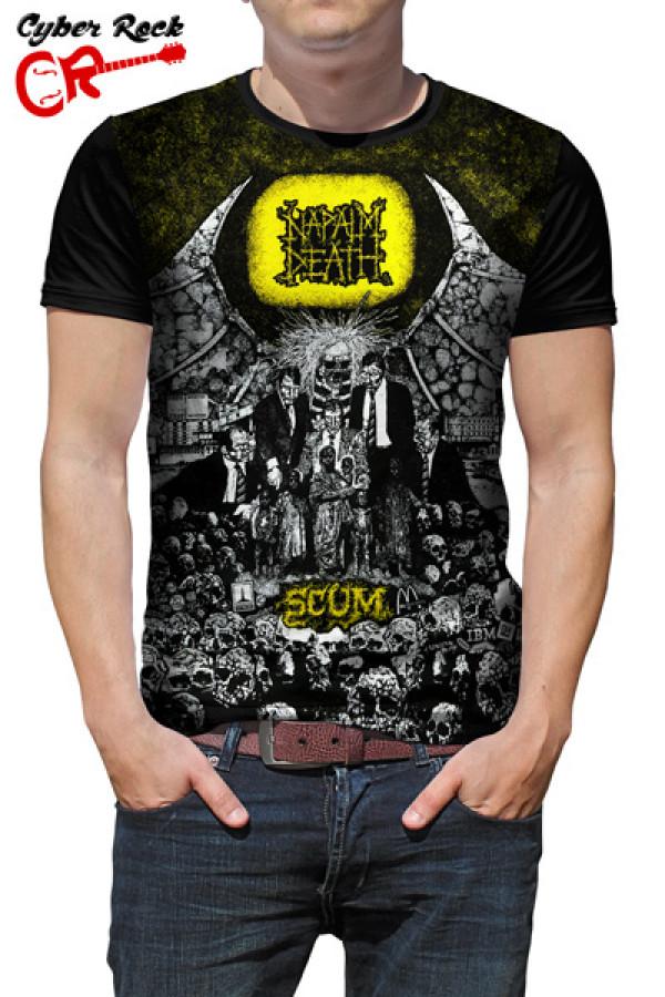 Camiseta Napalm Death Scum