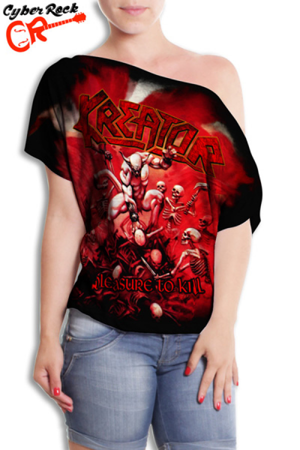 Blusinha Kreator Pleasure to Kill
