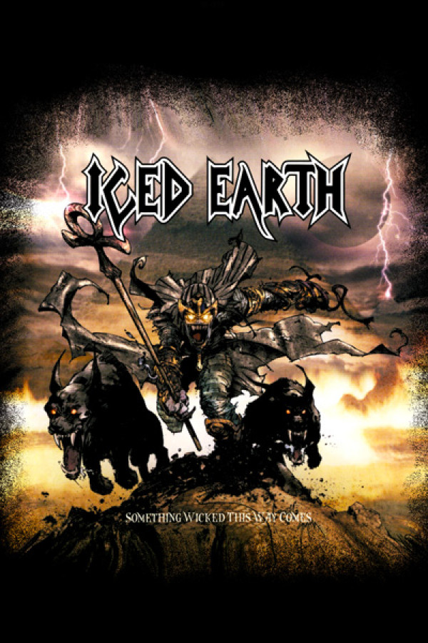 Blusinha Iced Earth Something Wicked This Way Comes