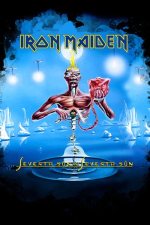 Camiseta Iron Maiden Seventh Son of a Seventh Son