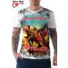 Camiseta Iron Maiden the trooper Branca