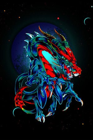 Camiseta Tatoo Dragon