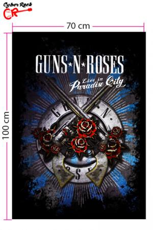 Bandeira Guns N Roses Paradise City