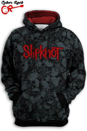 Blusa Moletom Slipknot Caveiras