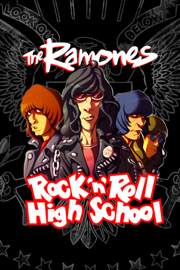 Camiseta Ramones Rock n' Roll