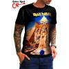 Camiseta Iron Maiden Powerslave Front