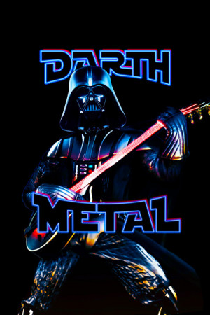 Camiseta Darth Metal