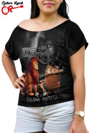Blusinha Kings Of Leon Hakuna Matata