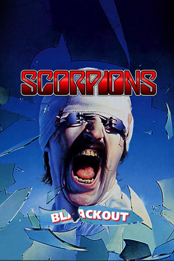 Blusinha Scorpions Blackout