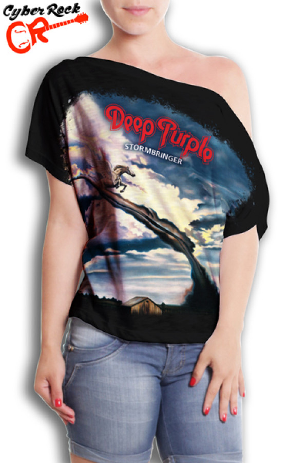 Blusinha Deep Purple Stormbringer