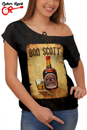 Blusinha Rock Beer Boa Scott AC DC
