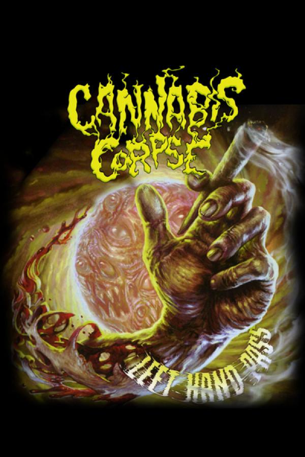 Camiseta Cannabis Corpse Left Hand Pass a