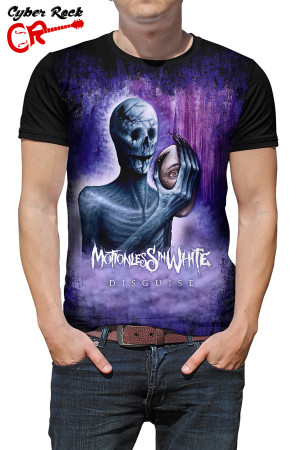 Camiseta Motionless in white-disguise