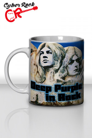 Caneca Deep Purple Deep Purple in Rock