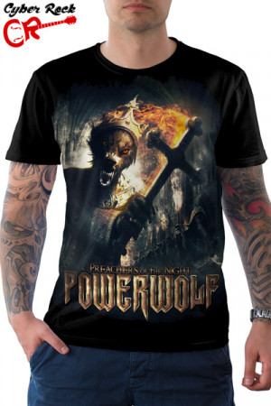 Camiseta Powerwolf Preachers Of The Night