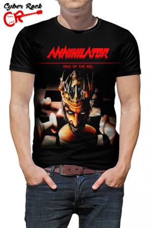 Camiseta Annihilator King Of The Kil