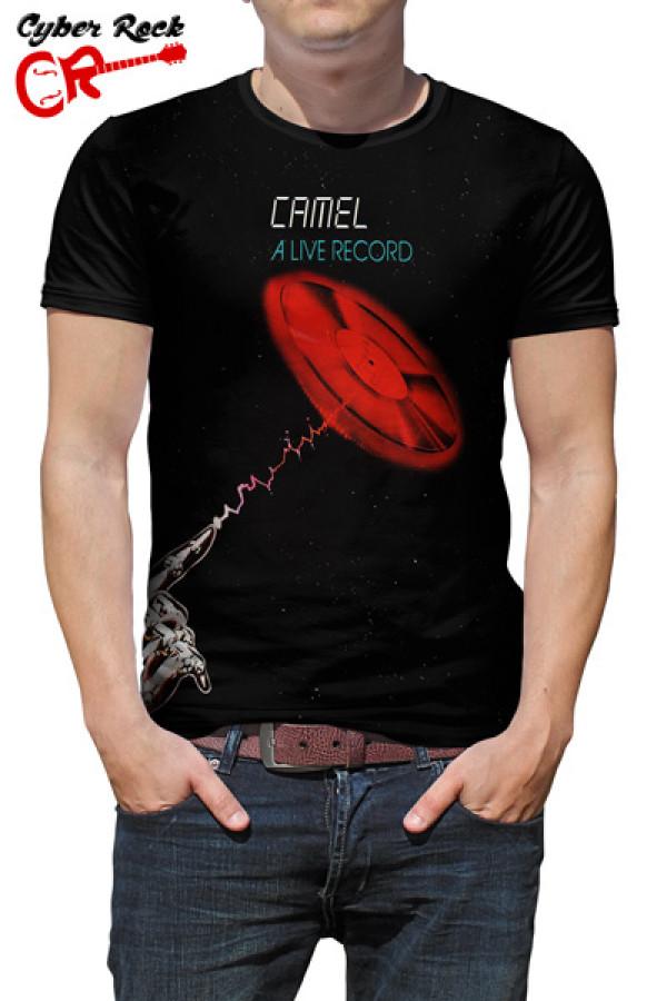 Camiseta Camel A Live Record