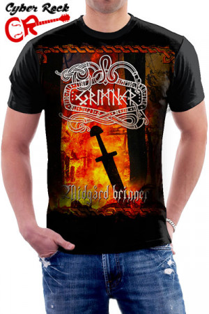 Camiseta Grimner Midgård Brinner