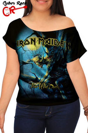 Blusinha Iron Maiden Fear of the Dark