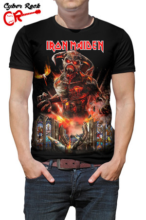 Camiseta Iron Maiden Legacy Beast Tour