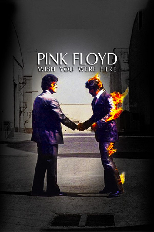 Camiseta Pink Floyd Wish You Were Here