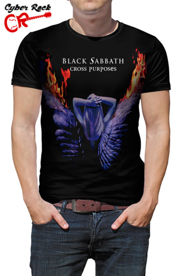 Camiseta Black Sabbath - Cross Purposes