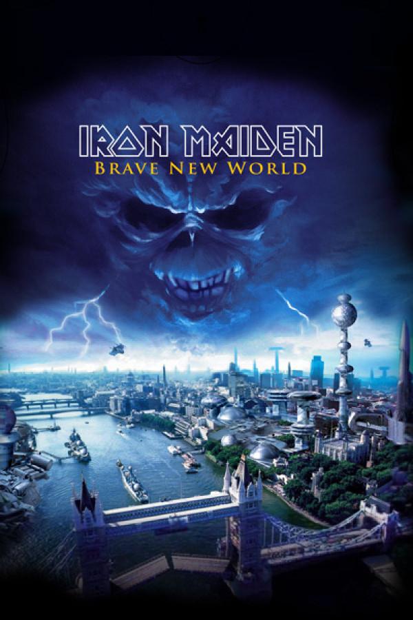 Camiseta Iron Maiden Brave New World