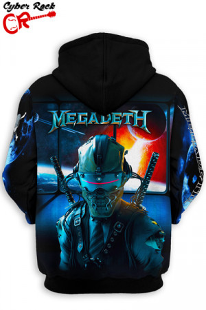 Blusa Moletom Megadeth Dystopia World Tour