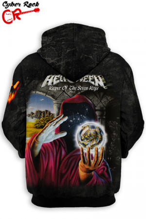 Blusa Moletom Helloween Keeper Of The Seven Keys