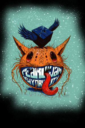 Camiseta Pearl Jam - New York City