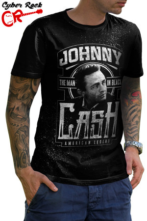 Camiseta The Man in Black