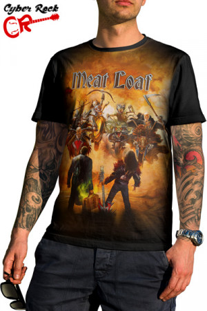 Camiseta Meat Loaf Braver Than We Are