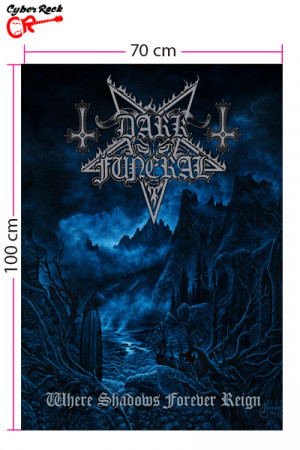 Bandeira Dark Funeral - Where Shadows Forever Reign